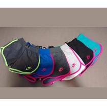 Kit 5 Shorts Feminino Moletom 100% Algodão, Hollister, Nike
