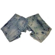 Kit Com 5 Short Saia Jeans Curto Muito Lindo Promoção