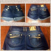 Shorts Pit Bull Jeans Levanta E Modela Bumbum !!nova Coleção
