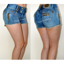 Shorts Pit Bull Jeans Levanta E Modela Bumbum! Frete Grátis!