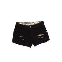 Shorts Degrant Cougar Preto Onça - Queima De Estoque