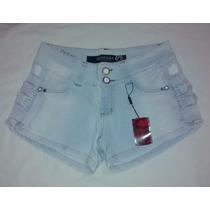 Short Jeans Curto Americano Claro Handara Promoção