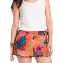 Shorts Saia Feminino Marca My Place Estampado Floral