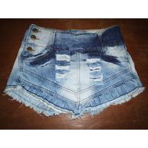 Shorts Saia Jeans Tamanho 38
