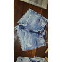 Shorts Jeans Revanche Feminino