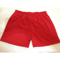 Shorts Para Bebê Masculino Em Malha Rn P M G Gg