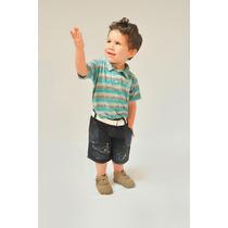 Shorts Jeans Infantil Bebe Ref 846 Liquidação Promoção
