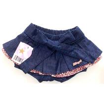 Shorts Saia Infantil Oncinha Kidin¿s Kd 5003
