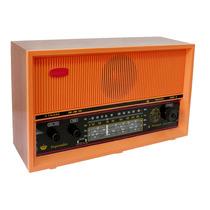 Rádio De Mesa Imperador 4 Faixas Am/fm Pilha E Luz