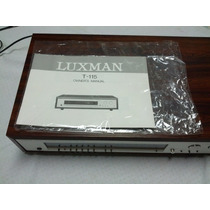 Luxman Frequéncy Synthesized Am\fm Stero Tuner T-115