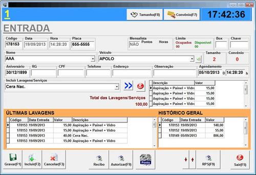 Software De Controle De Estacionamento Gratis