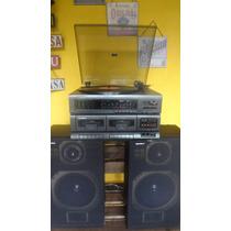 System 3 Em 1 Gradiente Ms 300 - Toca Discos / Rádio / Tape