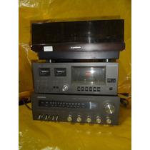 Conjto De Som Gradiente System 95 C/ Cxs+rack+t.disco - Ok.