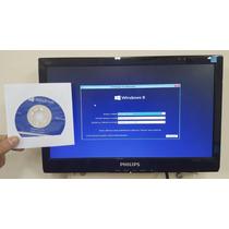 Windows 8.1 Pro Oem 64 Bit + Mídia Original Em Português