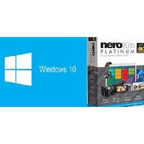 Licença / Chave / Serial Windows 10 Pro + Nero Platinum 2016