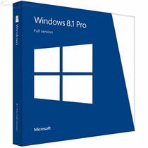 Windows 8.1 Pro ( 8 ) 32/64 Bits - Original ® Fpp Vitalicia!