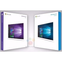 Dvd Windows 10 Pro 32/64 Professional E Home