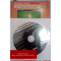 Dvd Cd Dell Windows7 Home Premium 64bits + Chave + Windows10