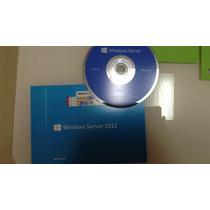 Windows 2012 Server Standard R2 C\15 Cals Licença E Dvd C\nf