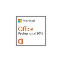Microsoft Office Professional 2016 Novos S/midia