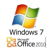 Cartão Office Home & Business 2010 + Selo Windows 7 Ultimate