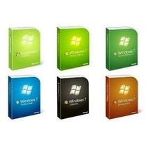 Windows 7 Original® - Todas As Versões - Frete Grátis