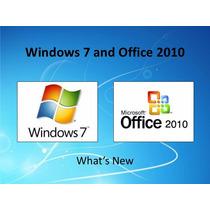 Windows 7 Pro Professional E Office Pro Plus 2010 + Nfe