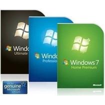 Windows 7 Original Todas As Versões - Licença Chave