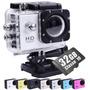Câmera Esportiva Sports Cam Filmadora Prova Dágua Wifi + 32g