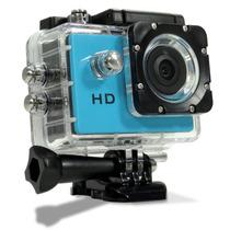 Câmera Filmadora Esporte Hd Alta Definição Capacete Mergulho