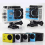 Câmera Sport Hd Tipo Sj4000 Filma Hd Várias Cores Prova Água