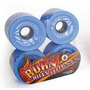Rodas Burn Hills Wheels 70mm 78a Azul - Longboard Skate