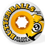 Rodas Sector 9 Butterballs 65mm 80a Slide Formula Longboard