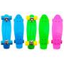 Skate Cruiser Mini Longboard Penny Retrô Abec 7 Surf