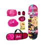 Skate Com Acessórios Barbie - Barão