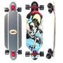 Skate Longboard Completo Crème Importado