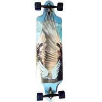 Skate Longboard Abec 7 Shape Personalizado Esporte Radical
