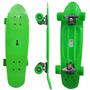 Mini Longboard Skate Grande Rodas Surf Retro Verao Long