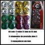 Kit Rodinha Skate + Rolamentos Abec 5 Original Black Sheep.