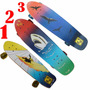 Skate Longboard Hang Ten Rodas Abec-7. Maple Canadense
