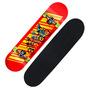 Skate Profissional Barato / Rodas Gel Truck Completo Abec7