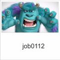 Adesivo Infantil Desenho Monstrossa Sully Susto Job0111