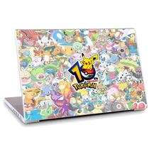 Skin Adesivo Notebook Pokemon Desenho Logo Filme Tv Skdi1625