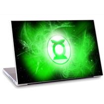 Skin Adesivo Notebook Logo Simbolo Lanterna Verde Skdi0800
