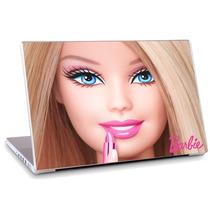 Skin Adesivo Notebook Papel Parede Desenho Barbie Skdi1661