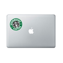Adesivo Starbucks Coffee Notebook Tablet Ipad Skin Netbook