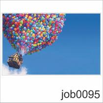 Adesivo Infantil Desenho Up Altas Aventuras Balões Job0094