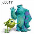 Adesivo Infantil Desenho Monstrossa Mike Sully Job0111