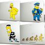 Skin Adesivo Para Notebook Ou Tablet Dos Simpsons