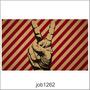 Adesivo Decorativo Parede Vintage Paz E Amor Retro Job1262